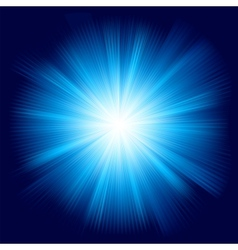 A blue color design with a burst eps 8 vector