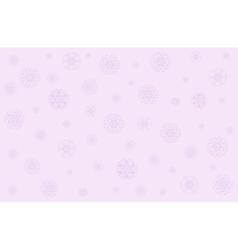 Christmas in gentle pink tones vector