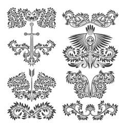 damaskdesign14 vector image vector image