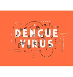 Design concept virus of dengue vector