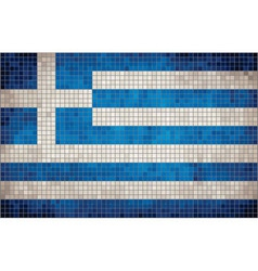 Flag of Greece vector image vector image