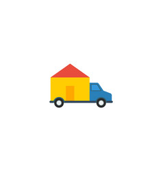 flat icon delivery element of vector image