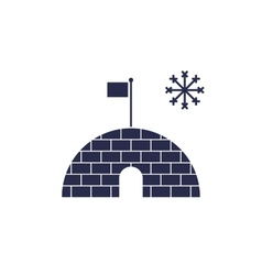icehouse vector image