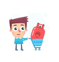 Purchasing gas vector