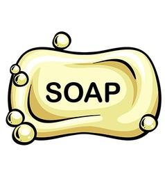 Soap vector image vector image