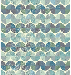 Worn textile geometric seamless pattern decorative vector