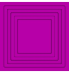 Concentric purple 6 square background vector