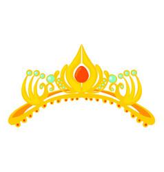 Coronal icon cartoon style vector