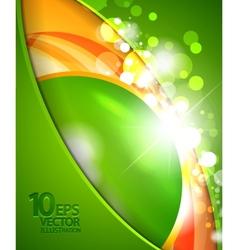 techno bubble background vector image