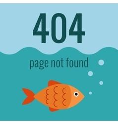 concept 404 error vector image