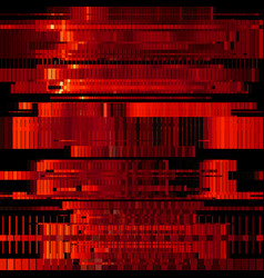 Glitch green abstract background vector