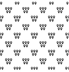 pointer marks pattern vector image vector image