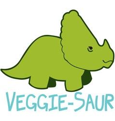 Veggie-saur vector