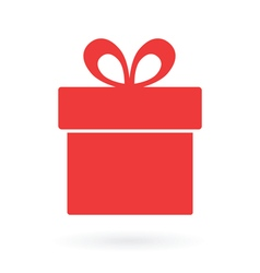 Present box icon vector