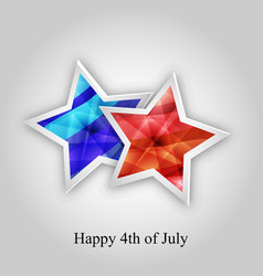 4th of july usa independece day vector image vector image