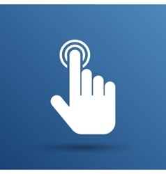 Click hand icon pointer finger pointer vector