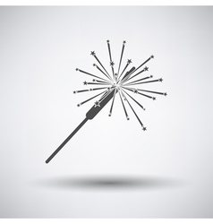 Party sparkler icon vector