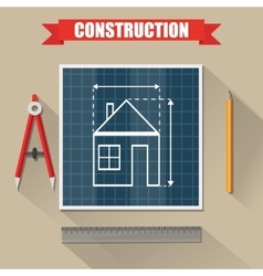 Architectural construction building vector
