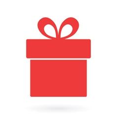 present box icon vector image vector image