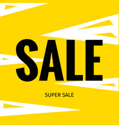 Sale advertising banner vector