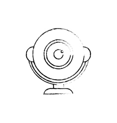 Webcam computer device vector