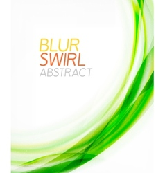 Business color swirl minimal design template vector
