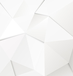Abstract geometric polygonal paper background vector