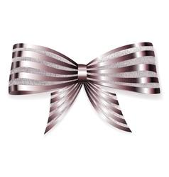 Beautiful big bow vector