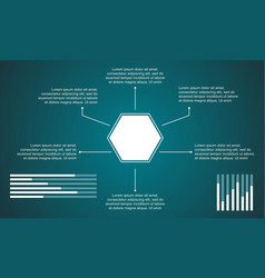 Business infographic data and graphic design vector