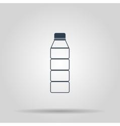 Plastic bottle icon vector image