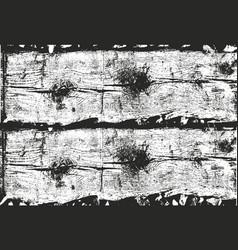 Distressed overlay wooden bark texture vector
