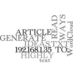 Ways to generate highly read article ideas text vector