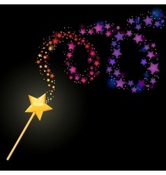 Magic wand vector