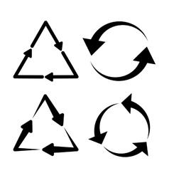 Arrows icons graphic vector