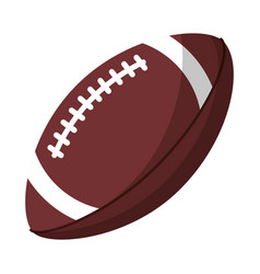 ball american football sport equipment vector image