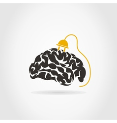 Brain7 vector image