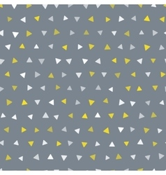 Seamless trendy triangle geometric pattern vector
