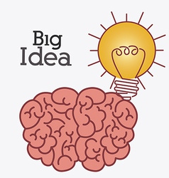 Big idea design vector