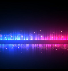 Colorful music background with glitter and vector