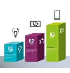 Infographic templates business design vector