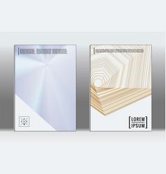 Minimal placard geometric cover vector