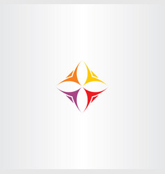 Business logo icon people team vector