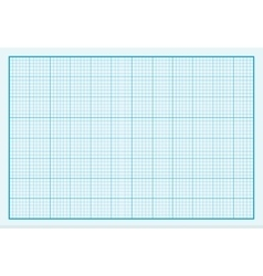 Graph Paper Background Design Flat vector image