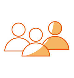 Community people group team media network vector