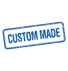 Custom made vector