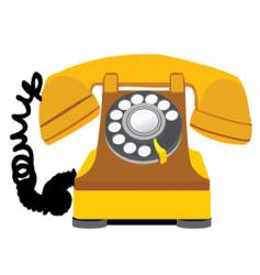 home phone vector image vector image