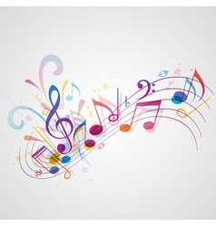 note music vector image vector image