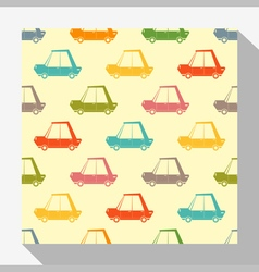 Retro seamless pattern collection with car 1 vector