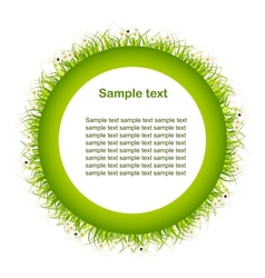 Green eco background abstract art vector