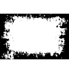 Grunge painted border for your designs vector image